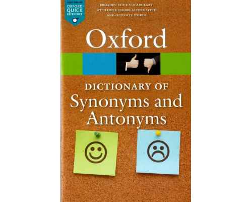 Oxf Dict of Synonyms and Antonyms