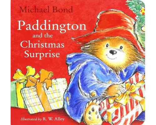 Paddington and the Christmas Surprise (board book)