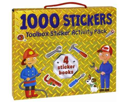1000 Stickers. Toolbox Sticker Activity Pack (4 Book)